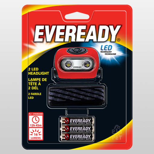 ​​EVEREADY® Value 2LED Headlight